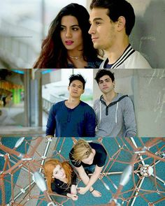 I ship them all Sizzy Malec Clace