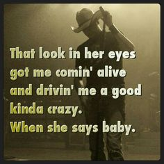 When She Says Baby. I have only my Favorite Jason Aldean songs on my iTunes. I love this song! Country Music Quotes, Love Songs Lyrics, Country Music Lyrics, Song Lyric Quotes, Country Songs, Music Songs, Baby Lyrics, Love Letras, In Her Eyes