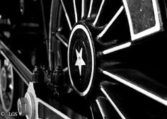 Black and White Train, Black And White, Antiques, Black White, Antique, Zug, Strollers, Trains