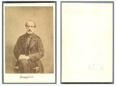 Giuseppe Mazzini    #CDV #portraits #Hommes_politiques