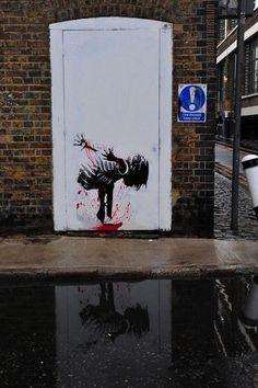 Street Artist: Grafter - London