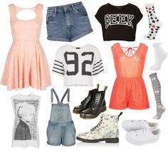 """""""Topshop with @vanessa1313"""" by iloveyoutothemoonandback ❤ liked on Polyvore"""