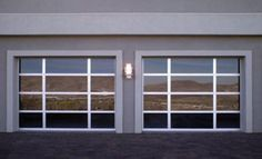 glass garage door - Google Search