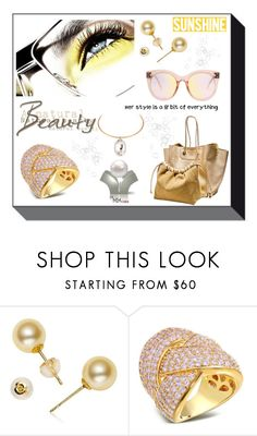"""A Little Bit of Sunshine"" by freida-adams ❤ liked on Polyvore"