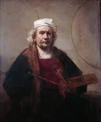 Self portrait with two circles, Rembrandt Harmensz. van Rijn, c. The Iveagh Bequest, Kenwood House, London. rembrandt als schilder. Art Museum, Fine Art, Poster Prints, Painter, Dutch Painters, Great Works Of Art, Dutch Artists, Art History, Rembrandt Self Portrait
