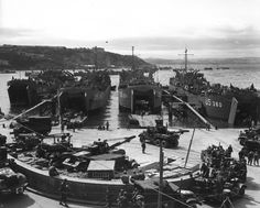 Prelude to D-Day in Great Britain spring 1944.