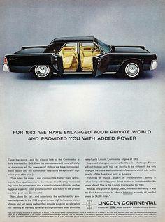 1963 Lincoln Continental Sedan