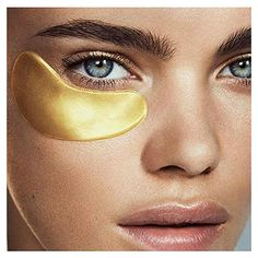 collagen advantages how to utilize, understanding collagen production and methods we can take in. Goodness of collagen that can benefit us. Gold Eye Mask, Gold Eyes, Eye Masks, Facial Masks, Face Scrub Homemade, Homemade Face Masks, Homemade Moisturizer, Homemade Facials, Homemade Beauty