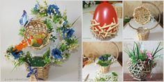 DIY Wood Floral Topiary Basket | www.FabArtDIY.com