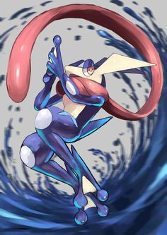 greninja, pokemon