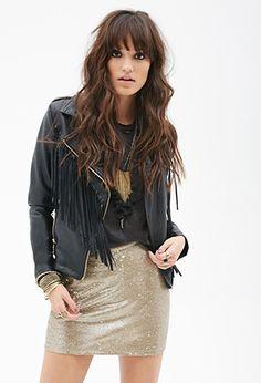 Sequined Mini Skirt   FOREVER 21 - 2000101226 $23