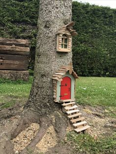 Top 41 wonderful fairytale garden ideas and decors 1 - fairy tree houses, fairy garden . - Top 41 wonderful fairy tale garden ideas and decors 1 – fairy tree houses, fairy garden designs, - Fairy Tree Houses, Fairy Garden Houses, Diy Garden, Gnome Garden, Garden Crafts, Garden Projects, Garden Art, Garden Types, Hobbit Garden