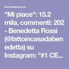 """""""Mi piace"""": 15.2 mila, commenti: 202 - Benedetta Rossi (@fattoincasadabenedetta) su Instagram: """"#1 CECI, RUCOLA E POMODORINI 300/400 grammi ceci 1/2 spicchio aglio 1 mazzetto rucola 10/15…"""" Fett, Finger Foods, Dolce, Instagram, 3, Estate, Pane, Gelato, Muffin"""