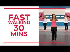 FAST Walking in 30 minutes | Fitness Videos - YouTube Fun Workouts, At Home Workouts, Youtube Workout Videos, Gym Youtube, Fast Walking, Leslie Sansone, Walking Exercise, Fitness Workout For Women, Fitness Tips