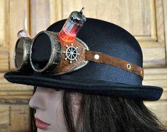 Steampunk goggles by Torquearm