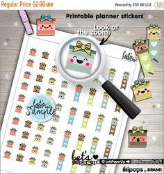 60%OFF - Gift Stickers, Printable Planner Stickers, Gift Box, Present, Birthday, Erin Condren, Kawaii Stickers, Planner Accessories, Cute St