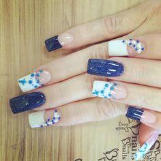 Basic Nails, Best Salon, Nail Designs, Shapes, Creative, Beauty, Yellow, Nail Desings, Beauty Illustration