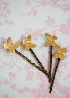BUTTERFLY Collection Bobby Pin Set Garden