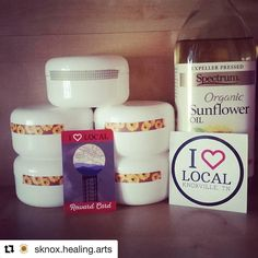Need a massage?! Call @sknox.healing.arts ASAP!! And when you book show them your I Love Local Reward Card and receive your all natural massage creme!! #Repost @sknox.healing.arts  shoutout to @ilovelocalknoxville REWARD CARD HOLDERS! 4 oz tubs of homemade all natural 3 ingredient massage creme just for you when you show your #ilovelocalknoxville card! If you have a 2016 card go ahead book your massage a claim your creme to take home!      # #knoxville #localknoxville #southknoxhealingarts…