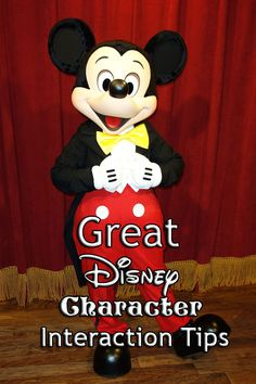 disney character interaction tips ideas: don't know if we will try any of these, but could be fun!