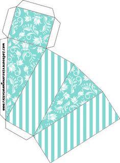 Caixa Fatia Azul Tiffany:                                                                                                                                                                                 Mais