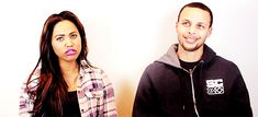 Pin for Later: Steph and Ayesha Curry Are Already the Best Couple of 2016 — Here's 17 Reasons They keep each other laughing.