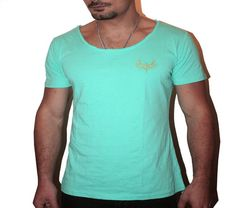 Mint Scoop Neck | Holiday Fashion | Clothing for men