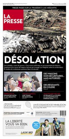 La Presse, published in Montreal, Canada