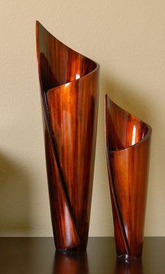 2 Piece Paper Vase Set