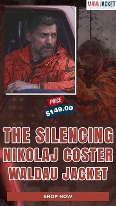 Nikolaj Coster Waldau, Orange Color, Hooded Jacket, Jackets, Men, Style, Jacket With Hoodie, Down Jackets
