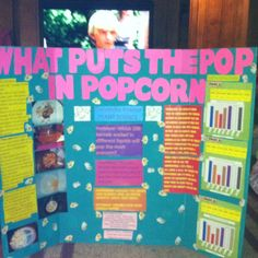 Grade 8 Science Fair project.   Project Based Learning   Pinterest ...