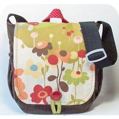 Cute messenger bag.