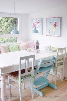 Heart Handmade UK: Pretty Pastel Danish Home
