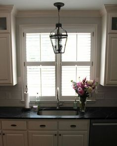 Kitchen Refresh Reveal - blinds