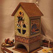 """Для дома и интерьера ручной работы. Ярмарка Мастеров - ручная работа Чайный домик """" Мечты о лете """". Handmade."""
