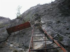 Klettersteig auf den Cima SAT (Gardaseeberge)