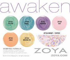 Zoya Awaken & Money Spring 2014