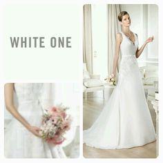 Vi har 2014 kjolene fra White One inne! One Shoulder Wedding Dress, Wedding Dresses, Shopping, Fashion, Bride Dresses, Moda, Bridal Gowns, Wedding Dressses, La Mode