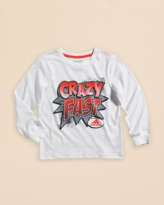 Adidas Infant Boys' Crazy Fast Tee - Sizes 12-24 Months