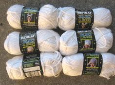 glow in the dark yarn!  $9