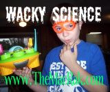 We are #homeschool folk that are wacky and we love #science, thus Wacky Science
