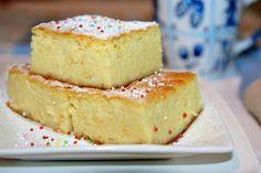 Miremirc - Budinca de gris cu branza de vaci Romanian Desserts, Romanian Food, French Desserts, Vanilla Cake, Sweet Tooth, Sweet Treats, Cheesecake, Dessert Recipes, Food And Drink