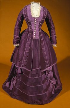 Day dress ca. 1871 From the Tyne & Wear Archives &... - Fripperies and Fobs