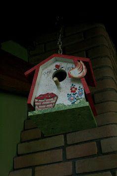 Casa de passarinho mdf