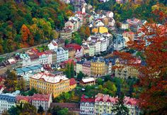 Karlovy Vary Czech Republic (amazing place not too far from Prague) Karl Iv, Cool Places To Visit, Places To Travel, Foto Blog, Grand Budapest Hotel, Prague Czech Republic, Belle Villa, Riomaggiore, Cinque Terre