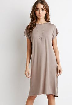 Terry Keyhole Back Dress   Forever 21   #thelatest