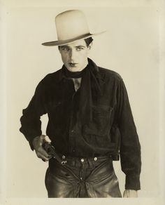 Gary Cooper in The Virginian directed by Victor Fleming, 1929.