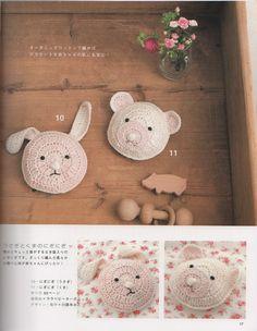 eBook Japanese craft crochet knitting book / A 2180. $2.80, via Etsy.