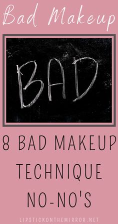 We are all unique creatures in our own right and we all deserve to have the confidence within ourselves to be able to walk this world with a healthy ego for who we are. Don't hide behind a ton of makeup, learn better ways to wear makeup so you can let the world see your face.#badmakeup #makeup