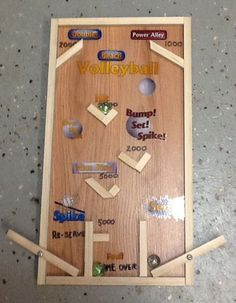 how to build a pinball flipper wood